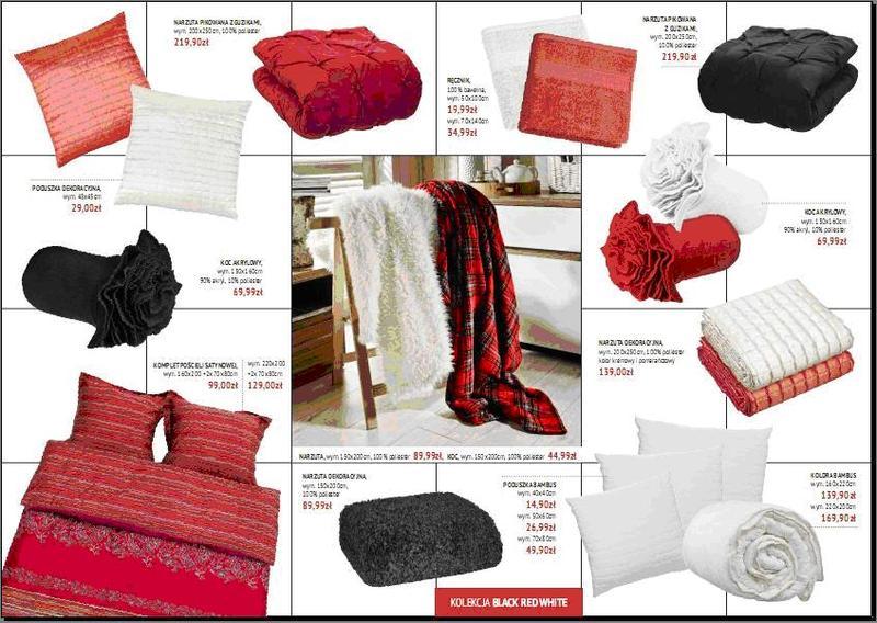 Nowe Kolekcje Tekstyliów W Salonach Black Red White
